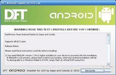 HTC HD2直刷Android系统步骤教程