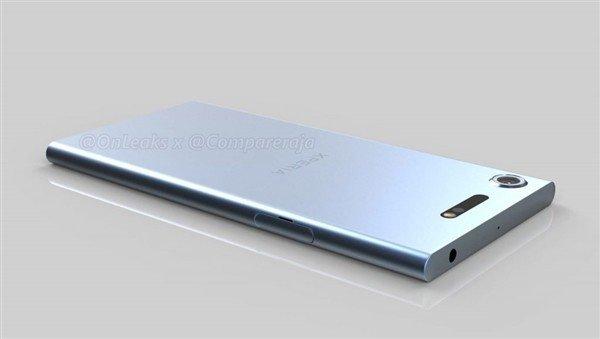 索尼Xperia XZ1后置摄像头略微凸起