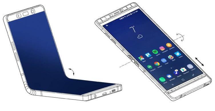 三星折叠手机,三星折叠手机发布时间,三星折叠手机配置