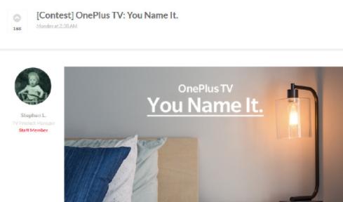 一加电视,一加电视配置,一加电视售价
