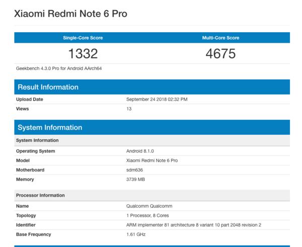 小米红米Note 6 Pro,小米红米Note 6 Pro配置,小米红米Note 6 Pro售价
