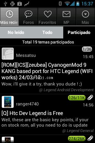 HTC Legend CM9 beta3 ICS 4.0.4 unofficial based po截图