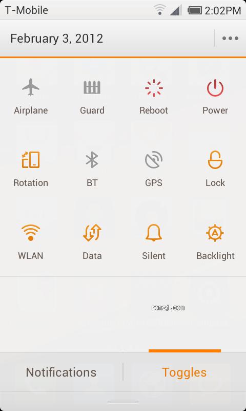 [MIUI美国站] MIUI 2.3.23 ROM for HTC Nexus One截图
