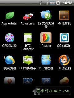 HTC Tattoo G4 ROM 2.3原生桌面 淡出淡入截图