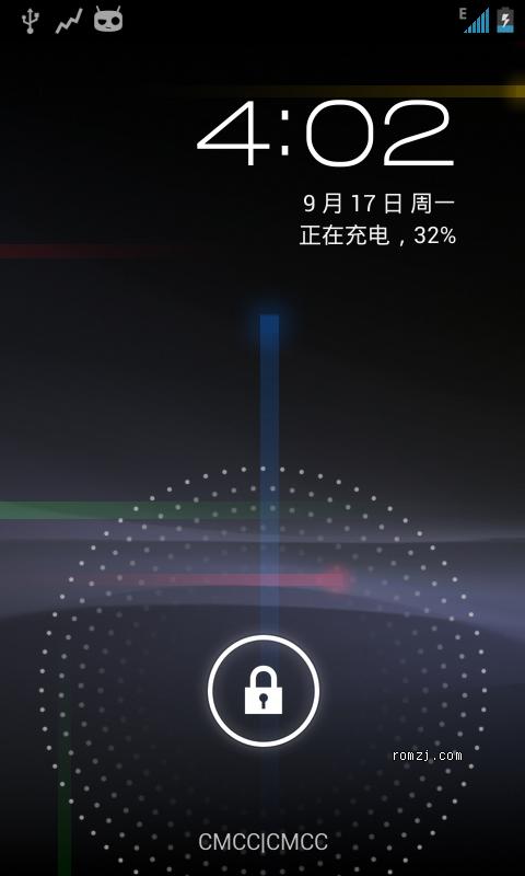 HTC Desire Z Test builds Jelly Bean CyanogenMod10 截图