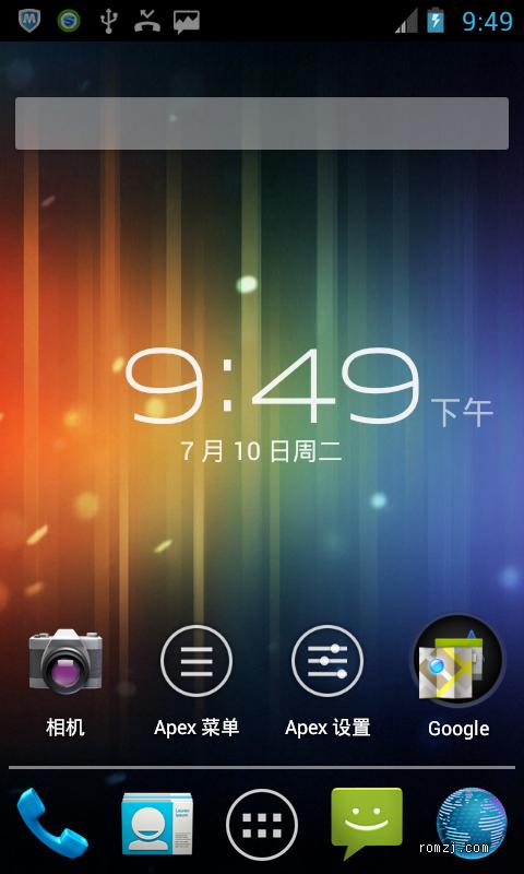 HTC Incredible 2_S710d Aokp三网 Kangdemnation_V0.2.1截图