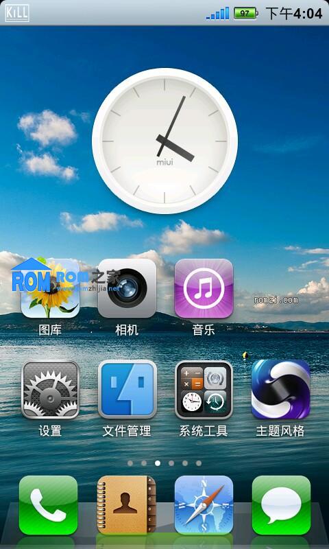 三星 Google Nexus S MIUI2.3.7 主题 软件安装位置可选 中文刷机自己选截图