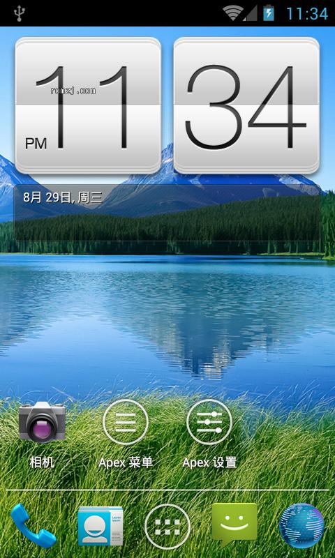 HTC Incredible CDMA CM9 0828 夜夜版 优化制作截图