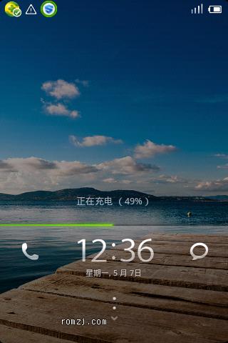 HTC Hero200通刷 移植MIUI V0.23 所有功能正常 稳定截图