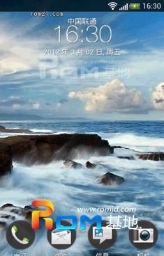 HTC EVO 3D  Sense 4.0 刷机包给力发布截图