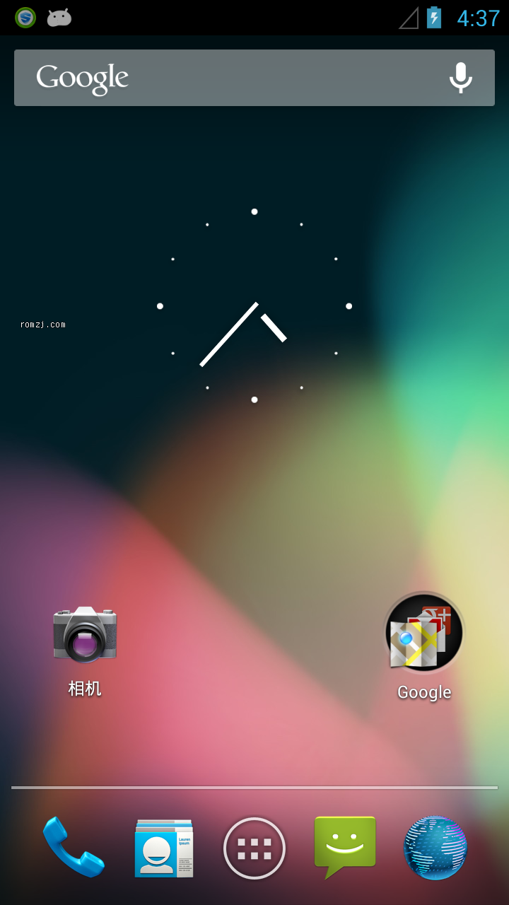 HTC Aria(G9) CyanogenMod10 Android 4.1 Jelly Bean截图