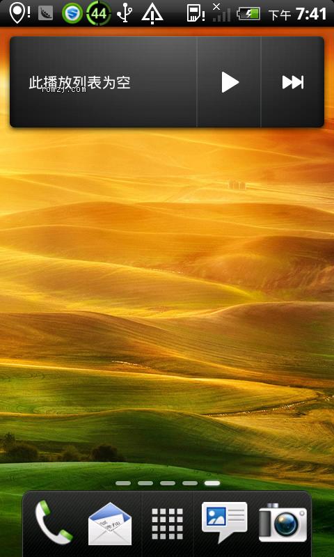 HTC G7 强势推出 高仿首款特效sense4.0版本截图