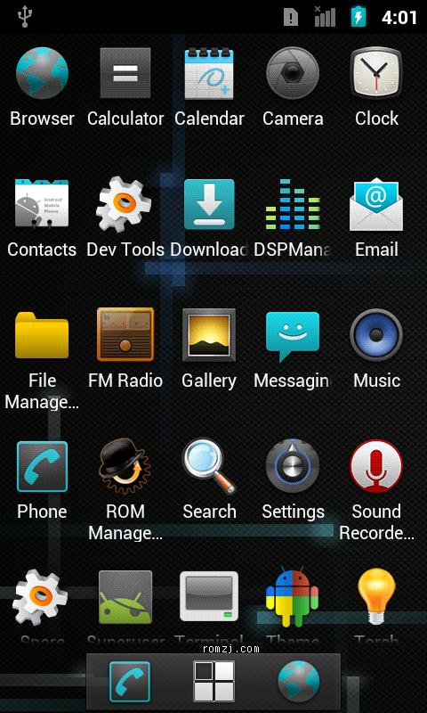 HTC Desire Nightly CM 7.2.0 _RC1 [2012.4.18更新]截图