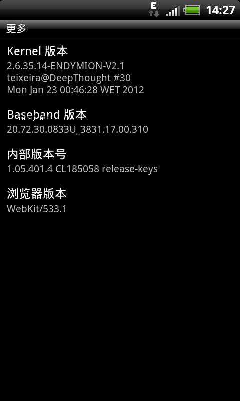 HTC G12 移植Runnymede Sense3.5 官方样式 流畅省电截图