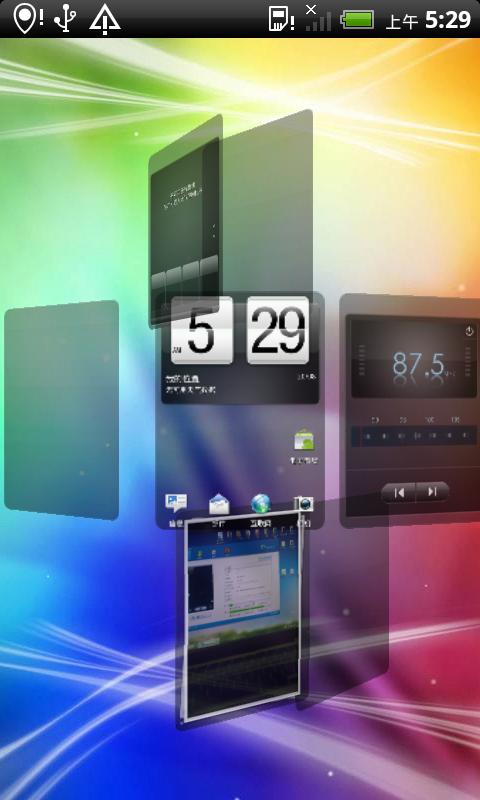 HTC Desire HD Rom 基于virtuous_unity v1.31.0制作截图