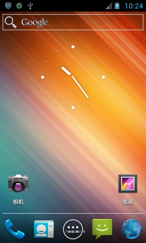 HTC EVO 4G CM9 夜夜版0710-UNOFFICIAL 完美摄像机 农历 汉化优化截图