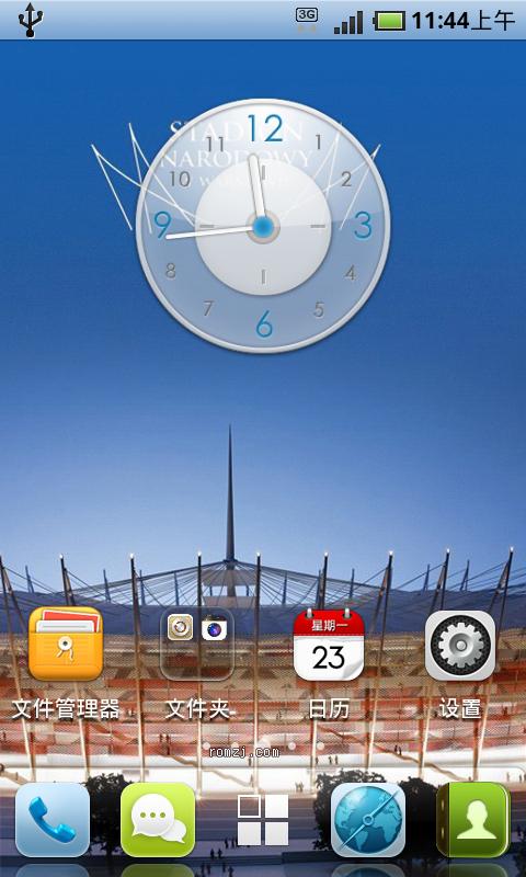 HTC EVO4G 移植乐众1.7.6版本,无内置内核CM7月最新截图