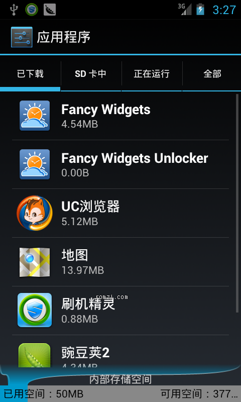 HTC EVO 4G CM9.0 RC0夜夜版 高仿Sense4.0 时钟插件 优化定制稳定版截图