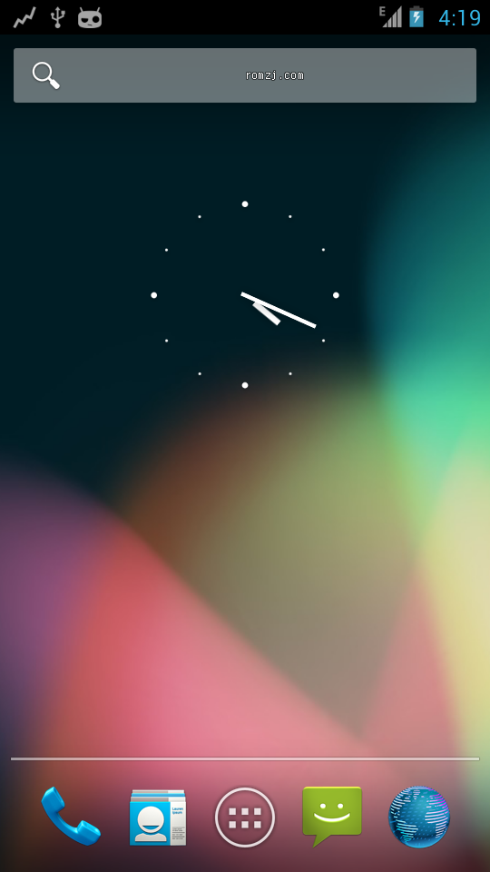 HTC G14 CyanogenMod 10 Jellybean 4.1.1截图