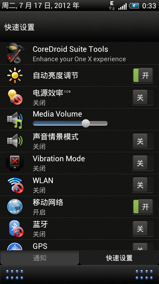 HTC G14 可定制的Rom sense4.0 美化 流畅 性能大大优化截图