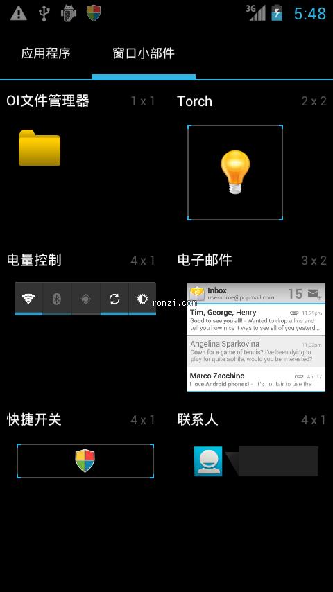 [01.13更新]Defy CM9 Android4.0.3 Beta3全新体现截图