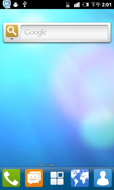 深度OS for 华为 U8860 v1.0-0727截图