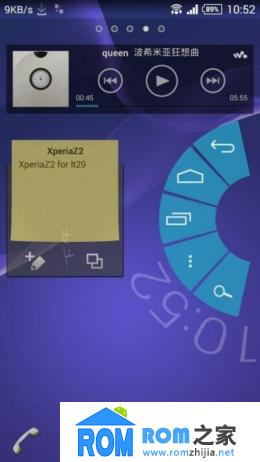 索尼LT29i刷机包 4.3 状态栏网速 虚拟按键大小可选 来电归属录音 流畅省电截图