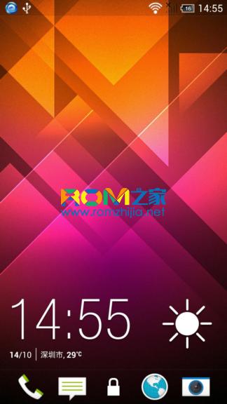 [ZeroArvin]HTC One X 刷机包 SuperRom OneX 4.2.2 Sense5 省电不发热 极速体验 截图