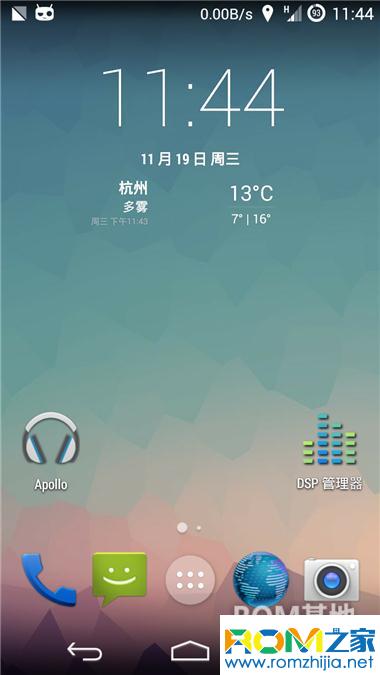 Google Galaxy Nexus 刷机包 CM11 安卓4.4 L主题 优化流畅 稳定使用截图