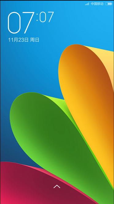 小米4刷机包 MIUI V6开发版4.12.1 免授权 IOS状态栏 双击锁屏 单手模式 三版通刷截图