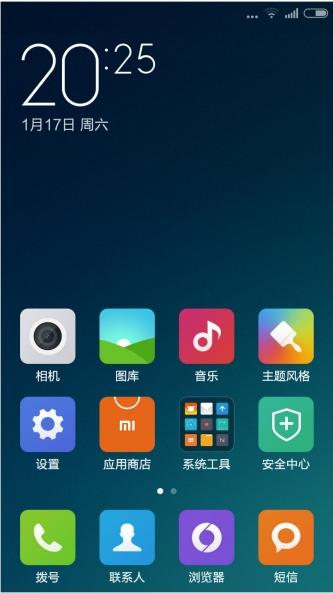 小米3刷机包 电信+联通版 MIUI6开发版5.1.19 小米Note壁纸 IOS状态栏 优化美化截图