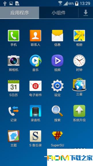 三星Galaxy S4(I9500)刷机包 基于官方4.4 完美ROOT 纯官方风格 稳定纯净版截图