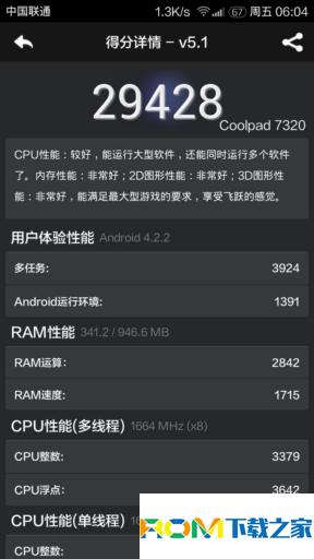 酷派7320刷机包 深度移植MIUI ROM 主题破解 V6风格 WSM框架 来电闪光 性能加速、优化截图