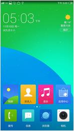 红米Note(4G单卡版)刷机包 YunOS 3.0.3适配版 全新UI风格 交互设计 强烈推荐使用
