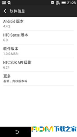 HTC One E8(M8St)刷机包 基于官方4.4.2 官方内核 安装位置可选 国内天气源 省电稳定截图