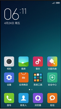 小米红米2A刷机包 MIUI6开发版5.7.31 下拉4x6 安卓5.0动画 隐藏应用 主题破解 省电稳定截图