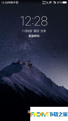 华为荣耀畅玩4X电信版刷机包 基于官方B282 root权限 来电闪光 双排网速 时间位置自定义截图