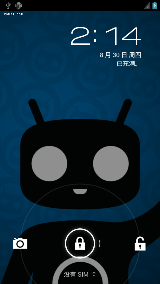 [9.0.0 RC2] Cyanogen团队针对LG MyTouch(E739)定制ROM截图