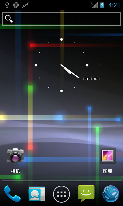 [Nightly 2012.09.23 CM9] Cyanogen 团队针对LG Mytouch(E739)刷机包截图