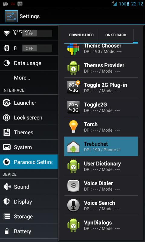 LG Optimus 2x(P990) TONYP's PARANOIDANDROID for SU截图