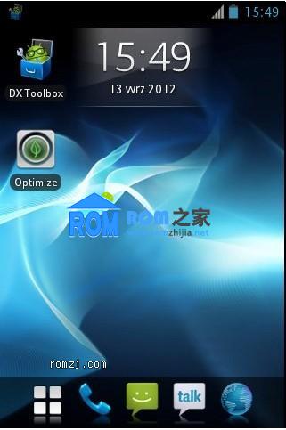 索尼 Xperia X8 ICS CM9 Stylishperia nAa-ICS 27-09-12截图