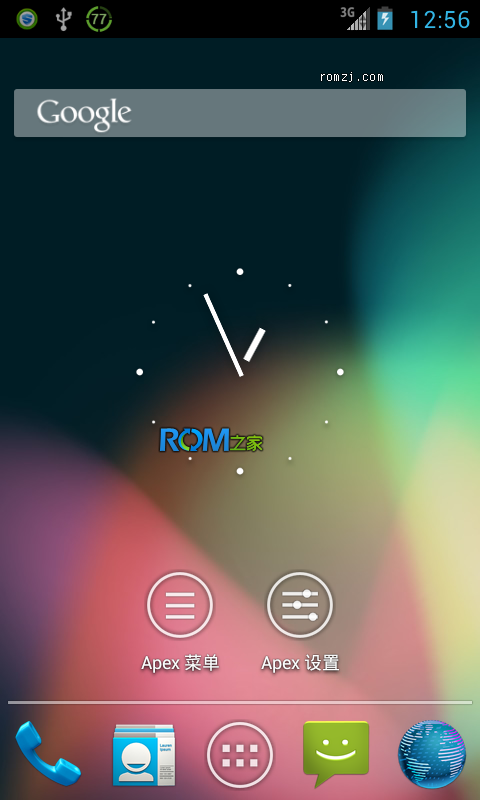 HTC EVO 4G Evervolv 4.1.2 Jellybean AOSP 源码编译 定制优化截图