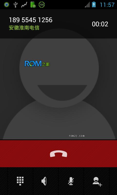 HTC EVO 4G CM10 4.1.2 源码编译 夜夜版RC2 归属地 11.01截图