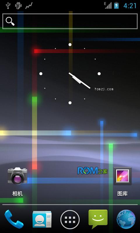 [Nightly 2012.10.28 CM9] Cyanogen 团队针对LG Mytouch(E截图