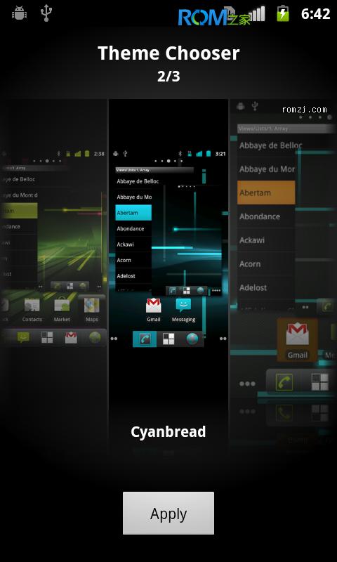 [Nightly 2012.10.28] Cyanogen 团队针对LG Optimus Hub定制截图