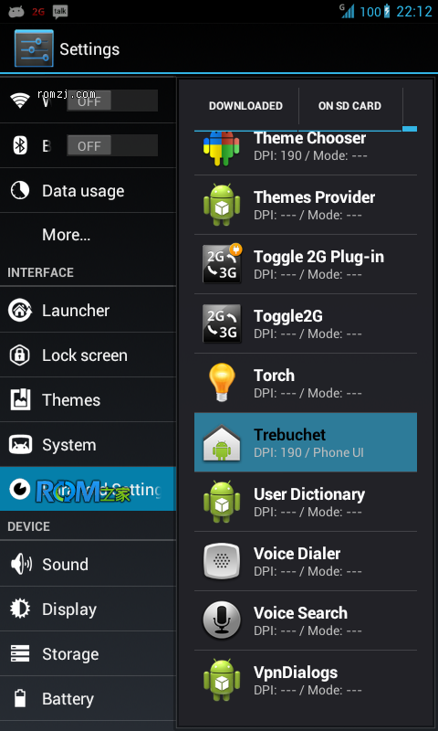 LG Optimus 2x(P990) TONYPs PARANOIDANDROID for SU6截图