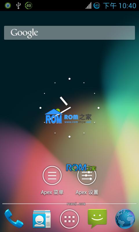 HTC EVO 4G CM10 4.1.2 源码编译 夜夜版RC3 归属地 相机可用截图
