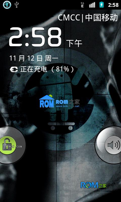 [Nightly 2012.11.11] Cyanogen团队针对MOTO Defy+定制ROM 稳定 流畅截图
