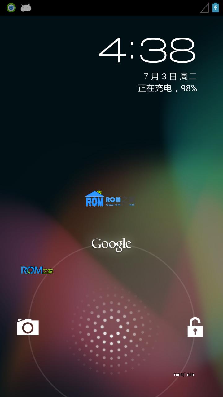 三星 Captivate(i897) Android 4.1.2 Jelly BeanAoCP CP 4.4截图