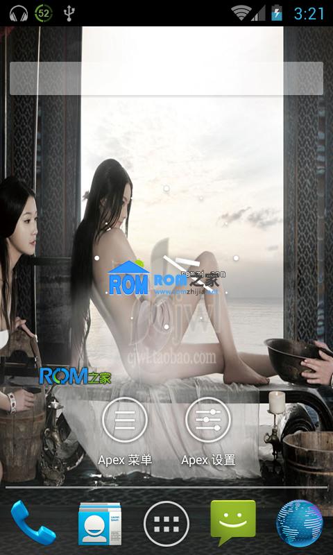 HTC EVO 4G 通刷 CM10 正式稳定版 优化 相机摄像机正常截图